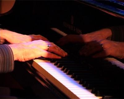 Portret van jazzpianist Bert van den Brink, uitgebracht op dvd, samen met een live-cd van het Trio Bert van den Brink.